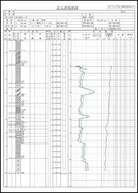 電気検層データ