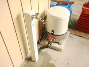 電動ポンプ設置