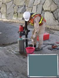 コンクリートコア抜き機材